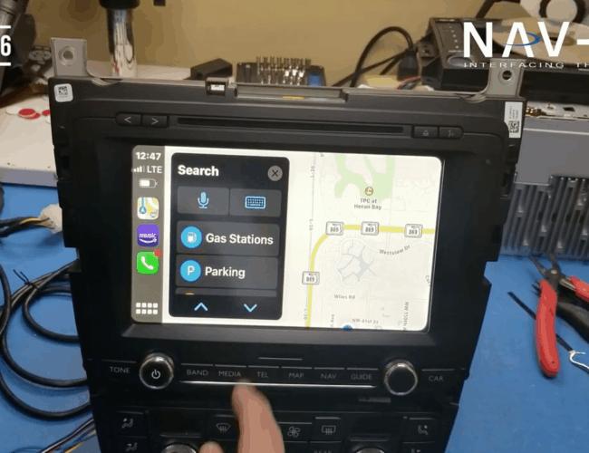 Nav-TV Smart Link – Bentley Radio Demo
