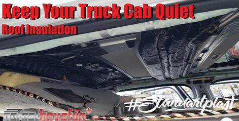 Keep Your RAM Pickup Truck Cab Quiet by Sound Deadening the Roof