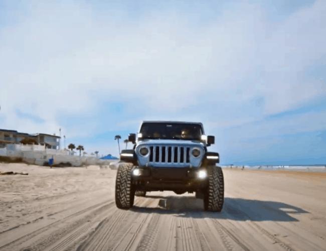 JL Audio Explores Daytona Beach, Florida During Jeep Beach