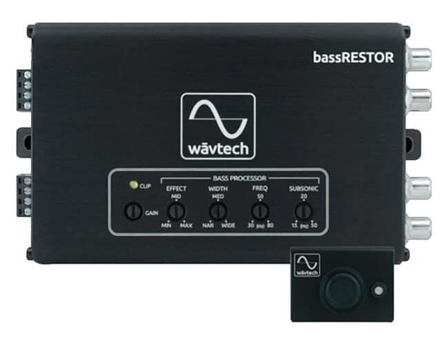 BASSRESTOR – Wavtech Bass Restoration Processor / LOC / Line Driver / EQ