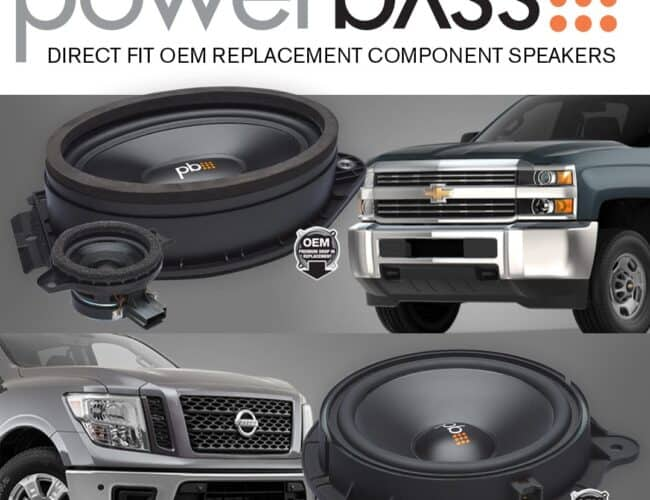 Powerbass OEM Direct Fit