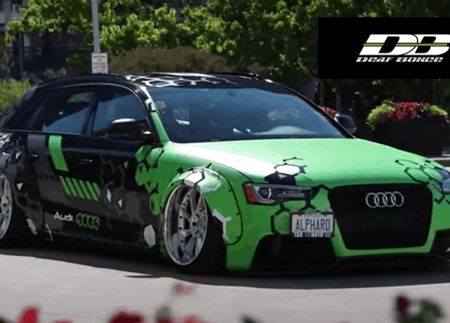 Audi S4 Powered by DeafBonce