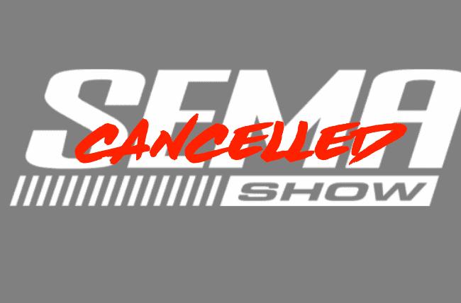 SEMA 2020 Cancelled