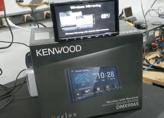 Kenwood Excelon DMX906S offers a WOW Experience!