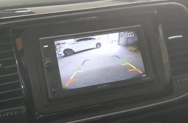 Sony XAV-AX1000 and VW Beetle Backup Camera