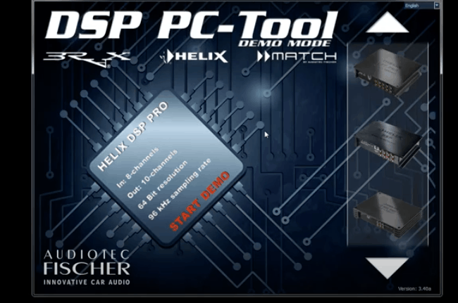Helix DSP Setting Inputs, Outputs, and X-overs