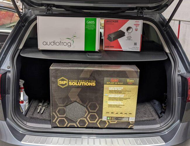 Mobile Sounds Ltd. | VW Golf Sportwagon