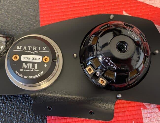 Certified Auto Sound | Fabricated Dash Speaker Mount