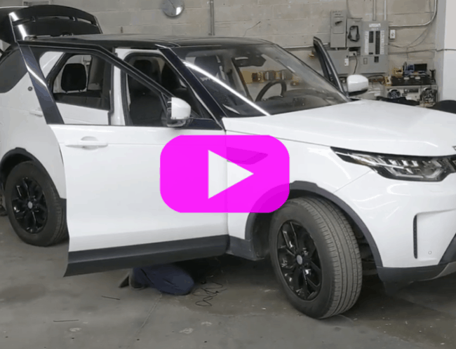 2019 Land Rover Discovery Rydeen Blind Spot Detection Kit