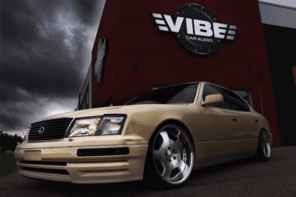 Vibe Car Audio | '96 Lexus LS400