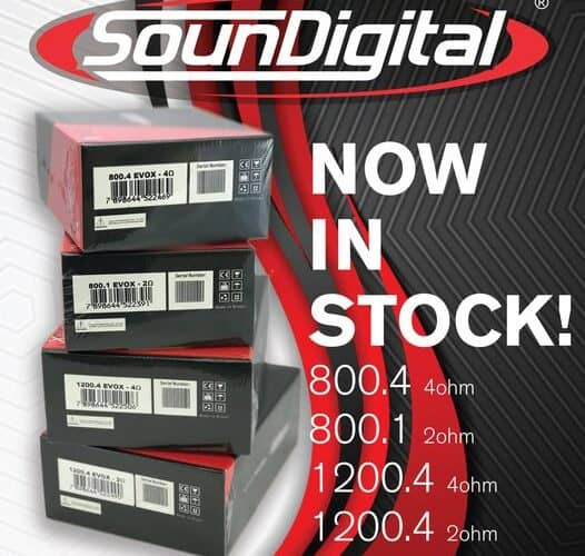 SounDigital EVOX Amplifiers