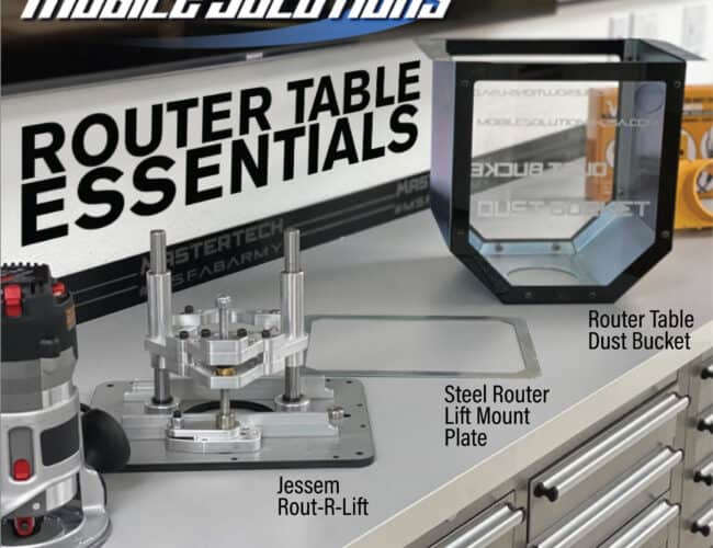 Mobile Solutions | Router Table Essentials