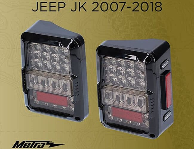 Heise LED Lux Taillight | Jeep JK 2007 – 2018