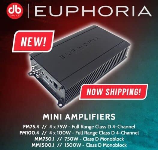 Mini Amplifiers | Euphoria by DB Drive