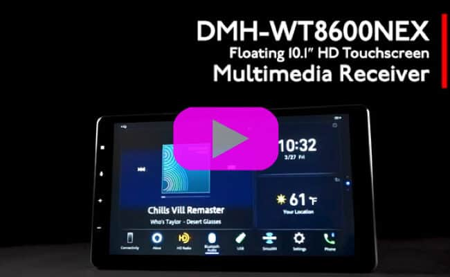 Pioneer DMH-WT8600NEX | System Overview