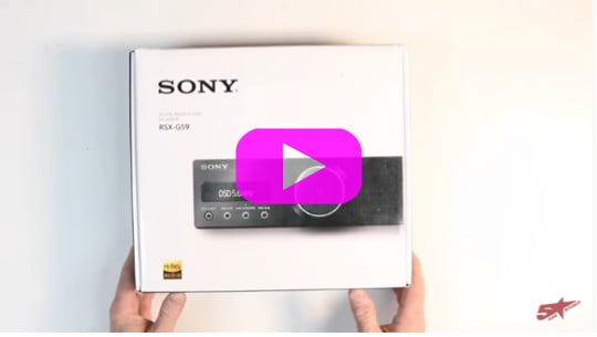 The Best car stereo | the Sony RSX GS9