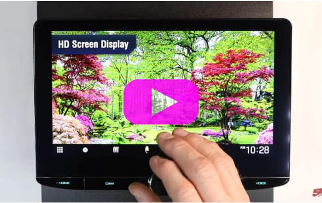 Kenwood DMX1057XR   Screen, features, and the Equalizer