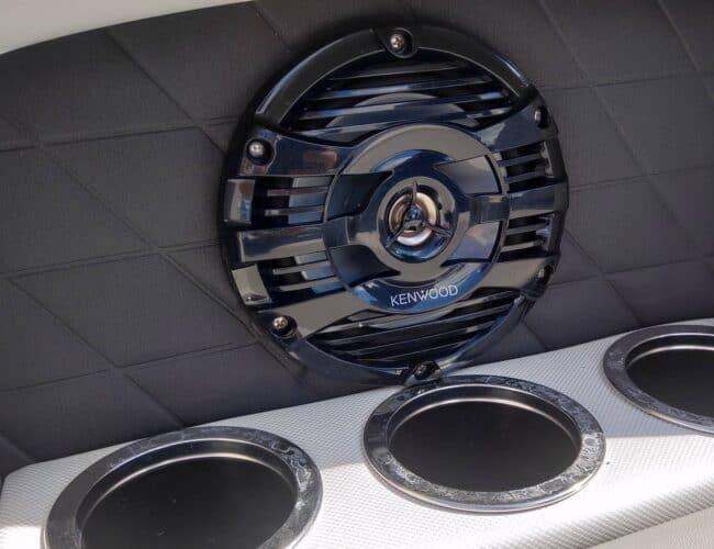 Audio Concepts | Pontoon Boat with Kenwood Marine Speakers