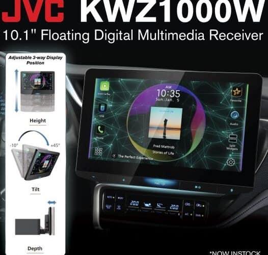 Product Spotlight | JVC KWZ1000W