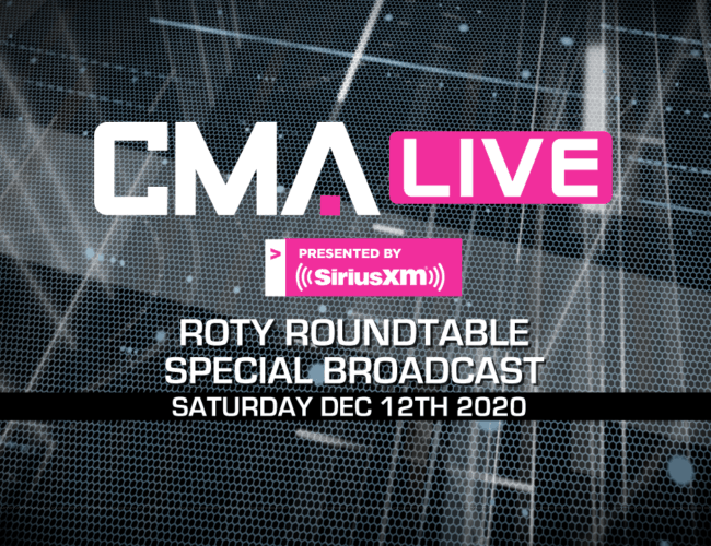 CMA LIVE | ROTY Roundtable | Special Broadcast