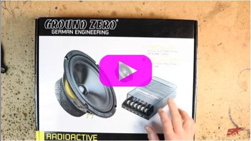 Door speakers go in the Ground Zero build