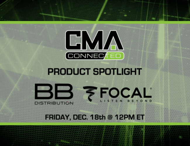CMA CONNECTED | Focal