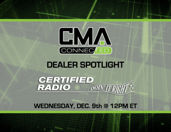 CMA Connected | Certified Radio