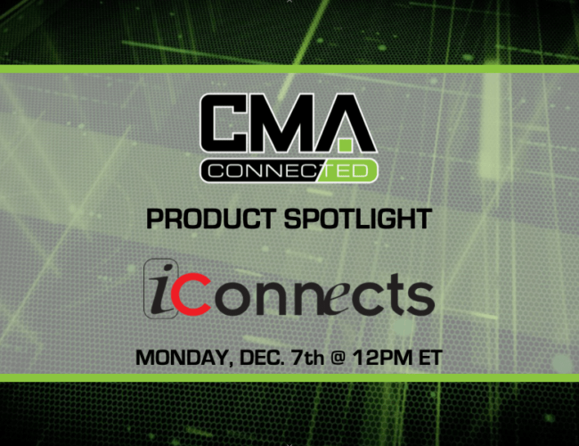 CMA Connected | iConnects