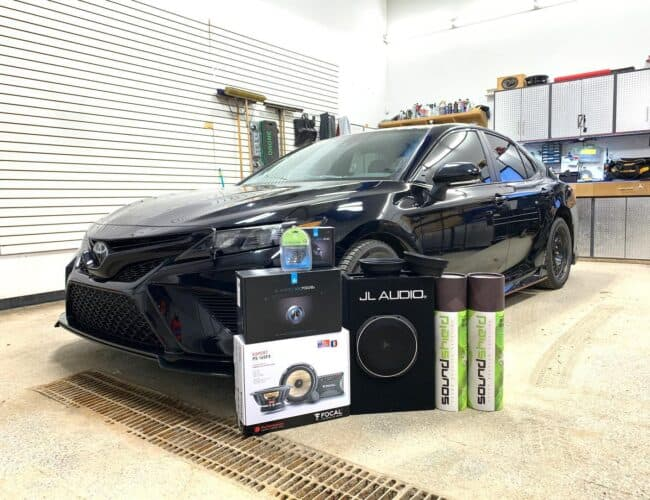 Vibe Car Audio | 2020 Toyota Camry TRD