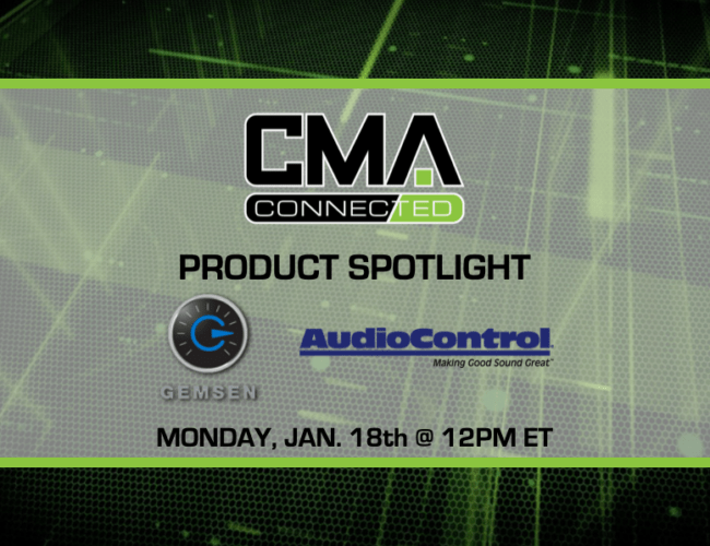 CMA CONNECTED | AudioControl