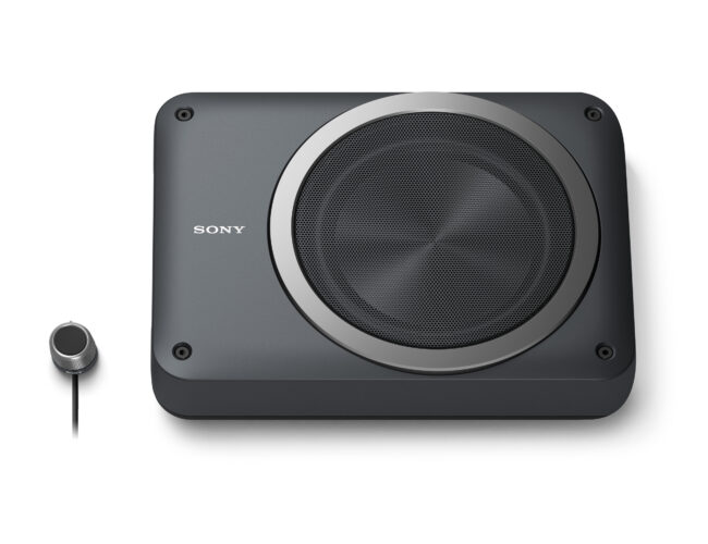 Sony XS-AW8 Compact Powered Car Subwoofer