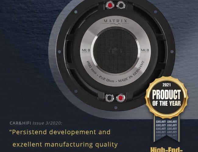 Product Spotlight | AudiotecFisher BRAX MATRIX ML8 SUB