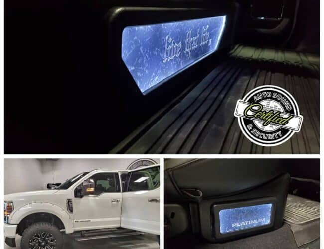 Certified Autosound and Security   2021 F350
