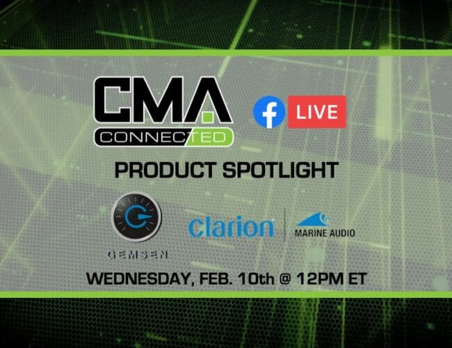 CMA CONNECTED | Clarion Marine