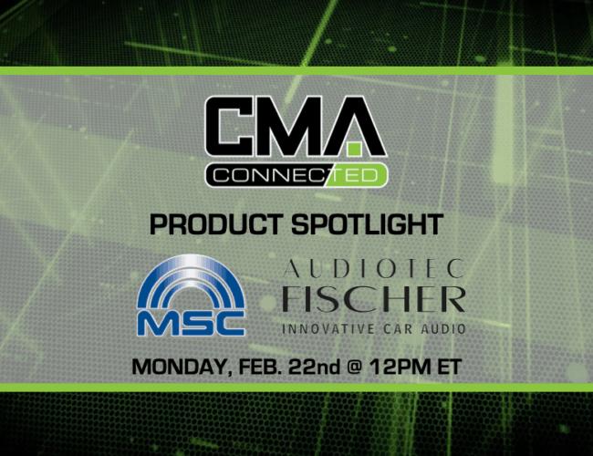 CMA CONNECTED | Audiotec Fischer