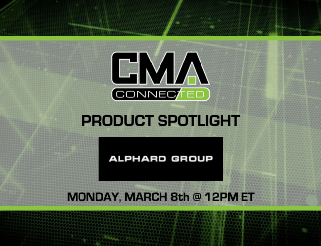 CMA CONNECTED | Alphard Group