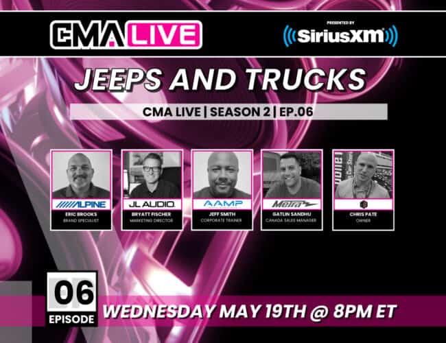 CMA LIVE S02E06 – Jeeps & Trucks