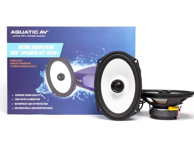 """Product Spotlight   The Ultra Saddlebag 6×9"""" Speaker Kit and RGB Controller from Aquatic AV"""