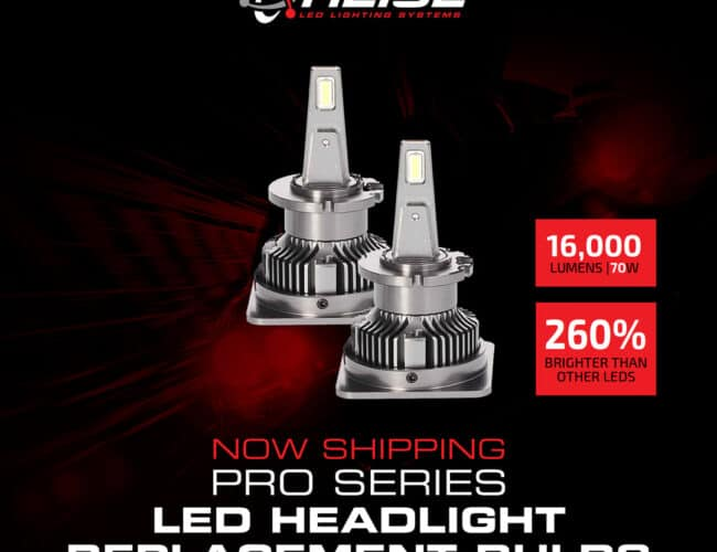 Product Spotlight | Pro Series LED Headlight Replacement Bulb from Heise