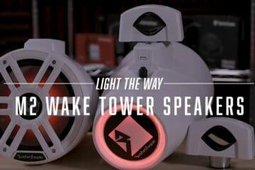 Product Spotlight | M2 wake tower speaker from Rockford Fosgate