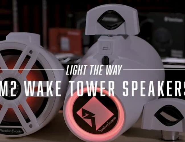 Product Spotlight   M2 wake tower speaker from Rockford Fosgate