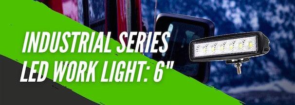 Product Spotlight | Industrial Series LED Work Light 6' from Vivid Lumen