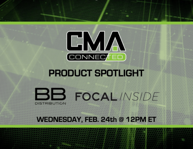 CMA CONNECTED | Focal Inside