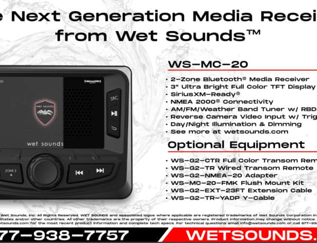 Product Spotlight | The Next Generation Media Receiver from Wet Sounds