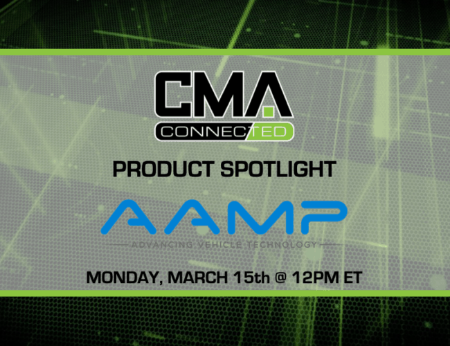 CMA CONNECTED | AAMP