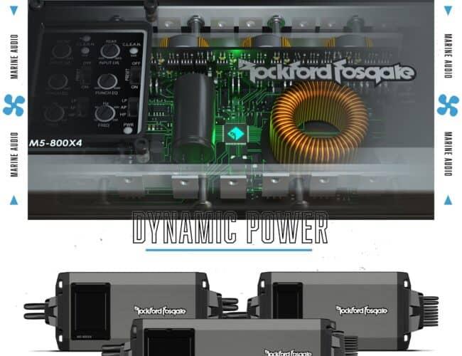 Product Spotlight   M5 Marine Audio from Rockford Fosgate