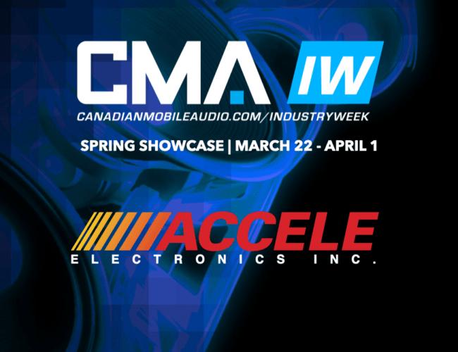 Accele Electronics @ CMA Industry Week