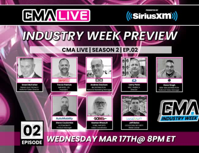 CMA LIVE | EP.2 | Industry Week Preview
