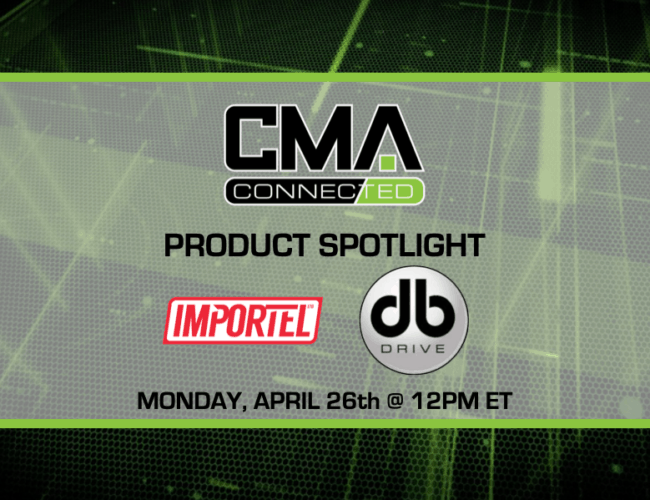 CMA CONNECTED | DB Drive