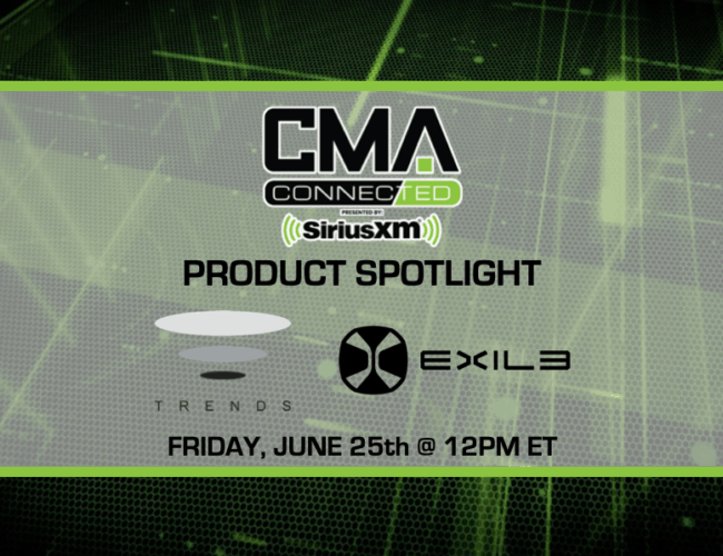 CMA CONNECTED | Exile Audio